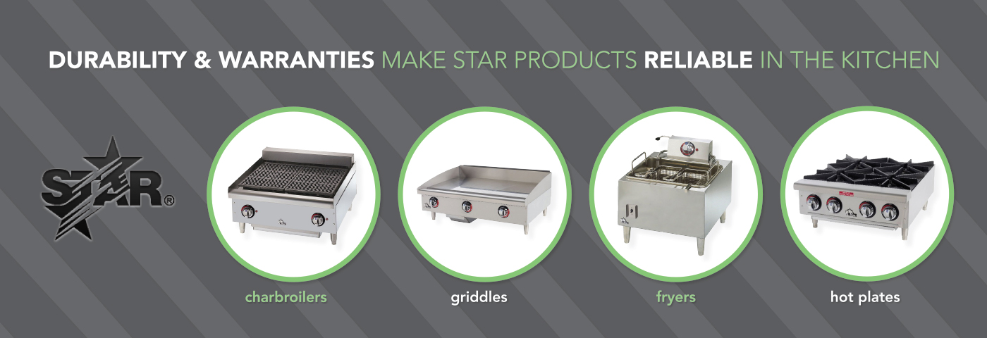star manufacturing, star grill, star equipment