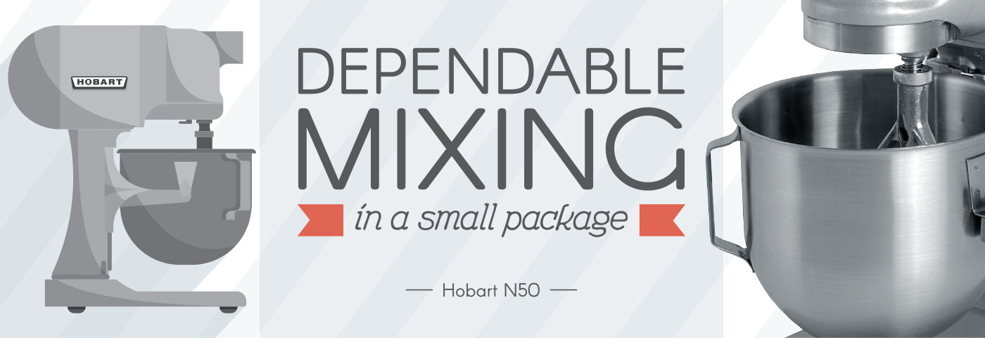 Dependable Mixing in a Small Package