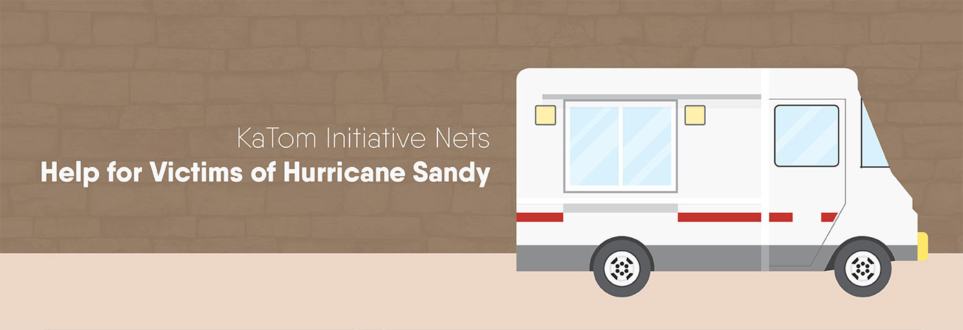KaTom initiative nets help for victims of Hurricane Sandy