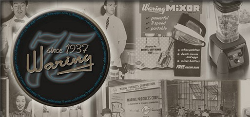 Waring Commercial 75 Years