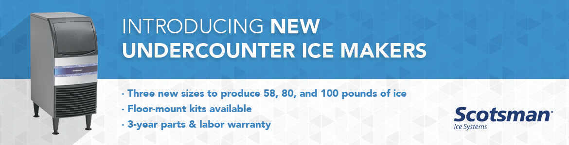 Scotsman Adds Essential Ice Series of Commercial Ice Maker