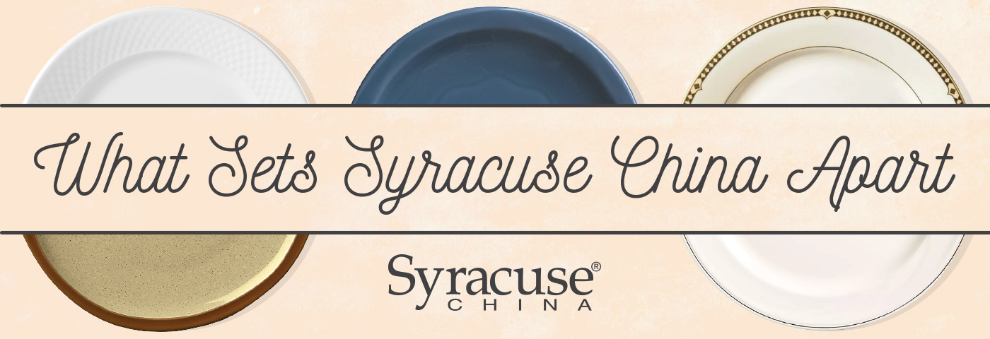 Syracuse Commercial Dinnerware