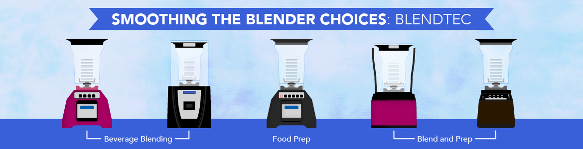 Smoothing the Blender Choices: Blendtec