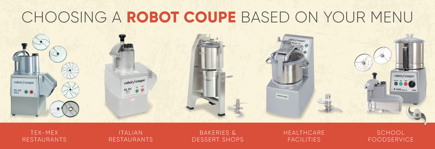 Using Your Menu to Choose a Robot Coupe